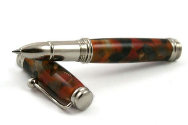 Jean-Pierre Lepine Indigo Classic - Murano - Marble Orange
