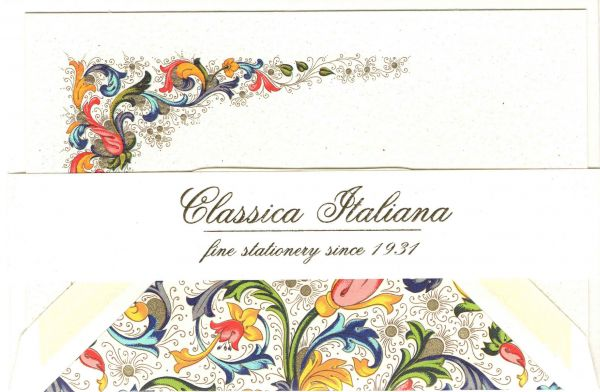Rossi Traditional Florentine Small Flat Cards