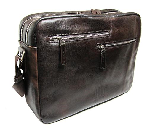 Orna - Travel/Work Bag 24H - Monaco Collection - Dark Brown