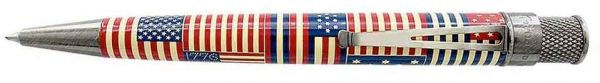 Retro 51 Vintage Metalsmith Collection: Patriot Tornado Rollerball Pen