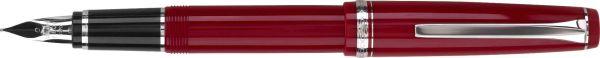Pilot - Falcon - Red/Rhodium - Fountain Pen