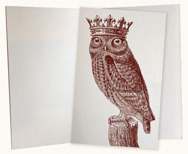 Alexa Pulitzer - Royal Owl Pocket Journal