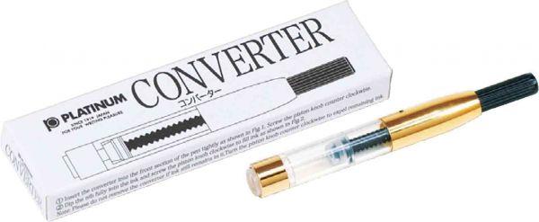 Platinum - Converter for Fountain Pens - Gold