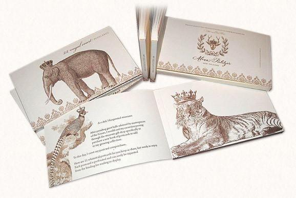 Alexa Pulitzer - Royal Court Postcard Book