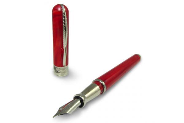 Pineider Avatar UR Fountain Pen - Devil Red