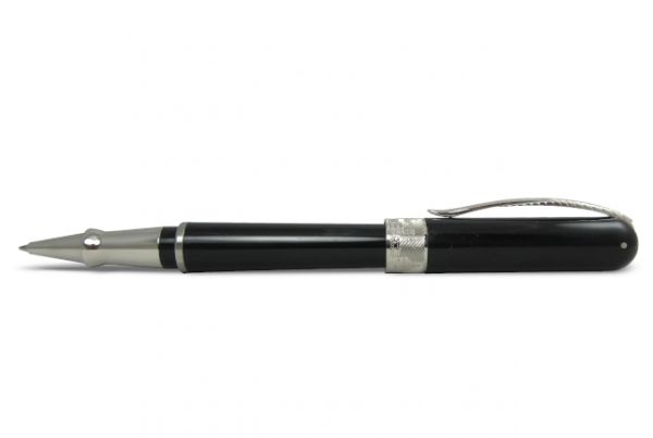 Pineider Avatar UR Rollerball Pen - Graphene Black