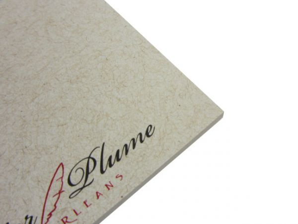 Papier Plume - Brown with Red Filigree - Memo Pad