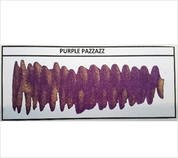 Diamine - Shimmertastic - Shimmering Fountain Pen Ink - Purple Pizzazz