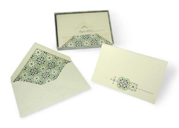 Kartos - Quadrilobo - Small Fold Over Cards
