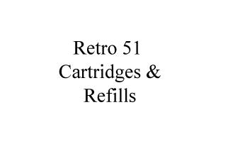 Retro 51 Cartridges & Refills