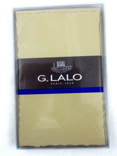 G Lalo Deckle-Edged Stationery Correspondence Sets