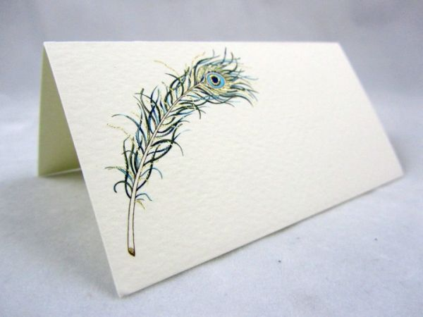 Rossi - Peacock - Place Cards - 2