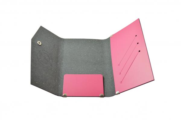 San Lorenzo - Regenerated Leather Passport Wallet
