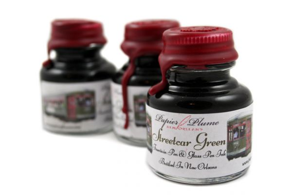 Papier Plume - New Orleans Collection Fountain Pen Ink - Street Car Green