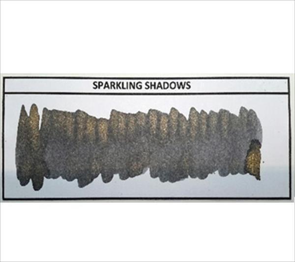 Diamine - Shimmertastic - Shimmering Fountain Pen Ink - Sparkling Shadows