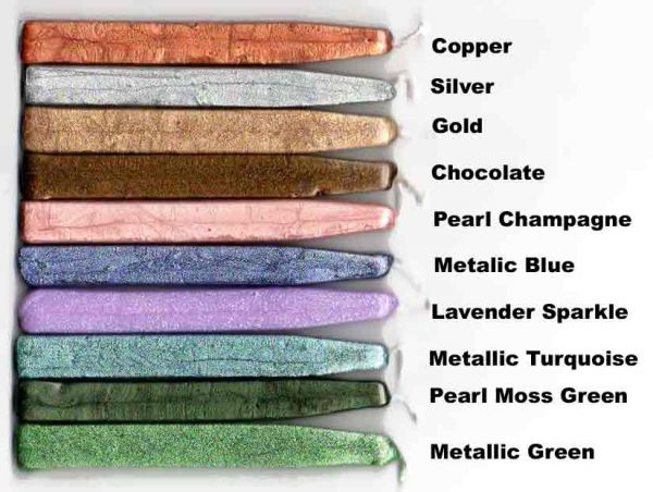 Metallic and Pearl Colors