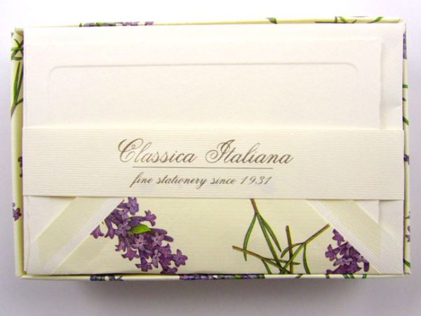 Rossi - Lavender - Medium Fold Over Cards