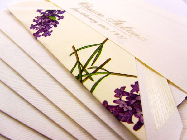 Rossi - Lavender - Medium Fold Over Cards
