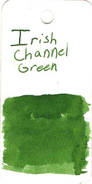 Papier Plume - 2021 Limited Edition Fountain Pen Ink - Irish Channel Green