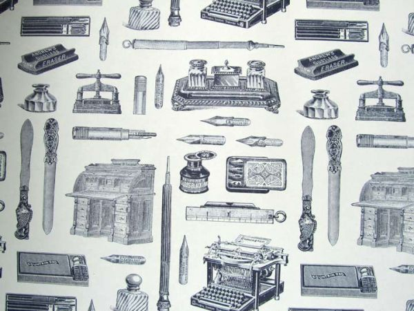 Rossi - Wrapping Paper - Writing Instruments