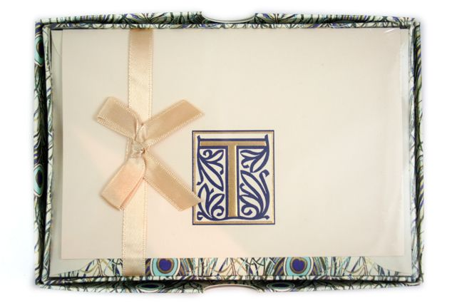 Rossi - Peacock - Initial Stationery - T