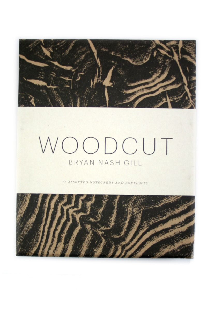 Princeton Architectural Press - Notecards with Envelopes - Woodcut