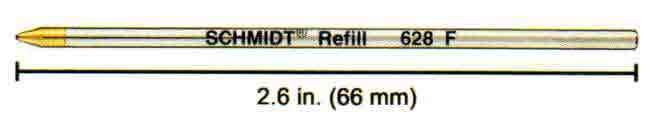 Ball Point Refill - D Size (Small)