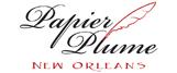 Papier Plume Top Footer Logo